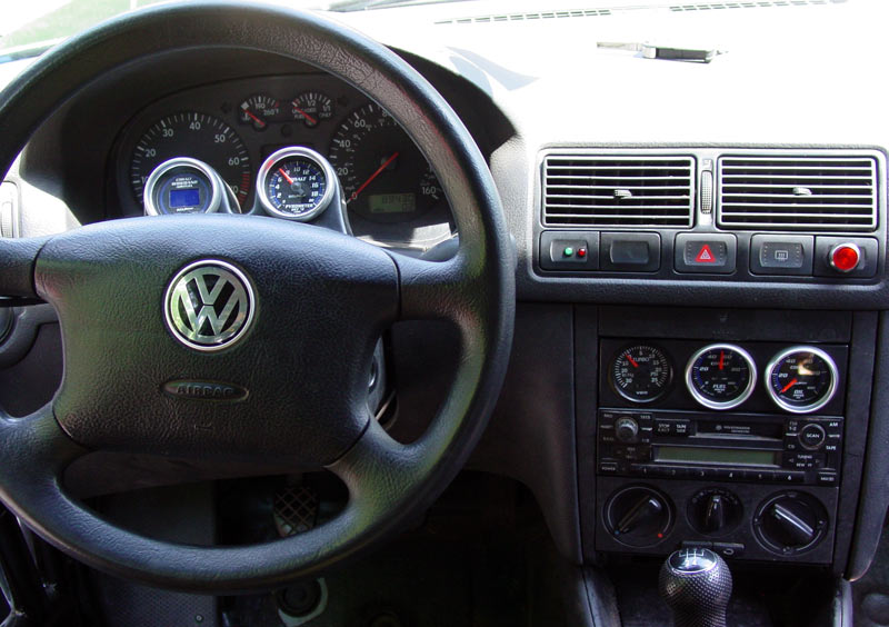 Vwvortex Com Radio Delete Gauge Panel Vw Mk4 Golf